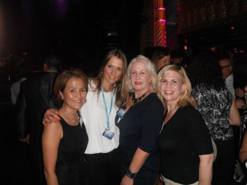 #IntDesignerChat friends having fun times at the  sponsored  Crossville Inc  VIP House of Blues Party