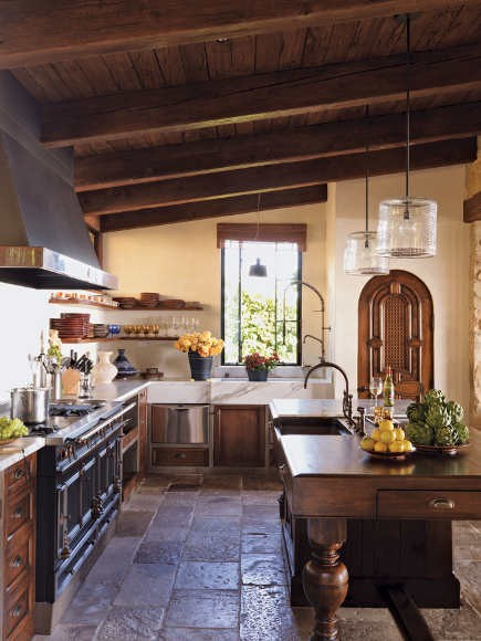 Traditional Michael Smith Design  Kitchen