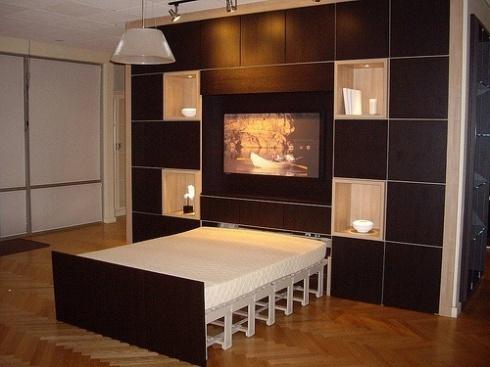 A Closet Bed