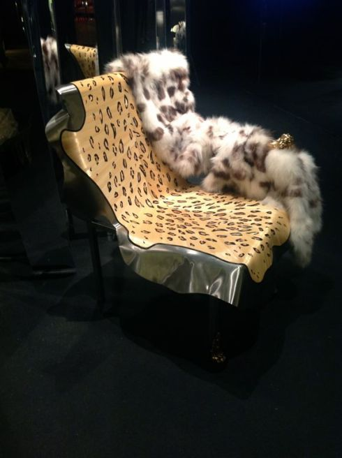 HAIR ON HIDE  At FENDI Interiors,  Design Miami Fair