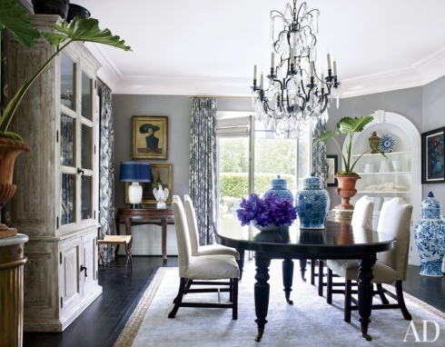 traditional-dining-room-los-angeles-california