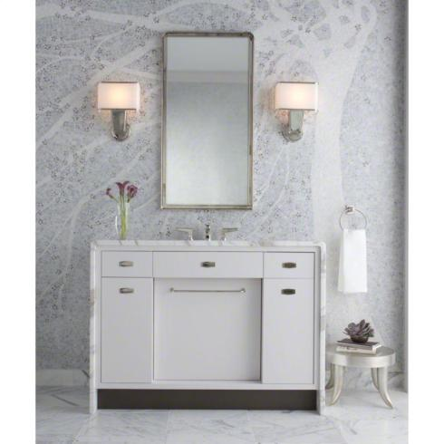 Bill Sofield Vanity With Marble For Kallista